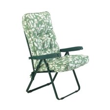 Deluxe Reclining Deck Chair with Cushions