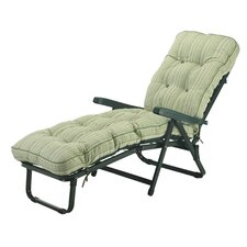 Deluxe Sun Lounger with Cushion