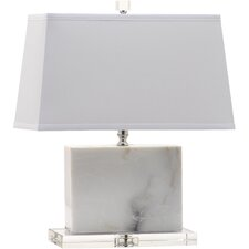 "Marblehead 19"" H Table Lamp with Rectangular Shade"