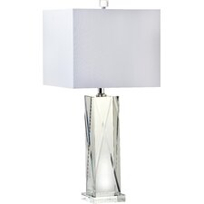 "Trophy 26"" H Table Lamp with Square Shade"