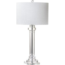 "Trophy 30"" H Table Lamp with Drum Shade"