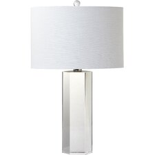 "Trophy 25"" H Table Lamp with Drum Shade"