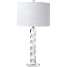 "Trophy 28"" H Table Lamp with Drum Shade"