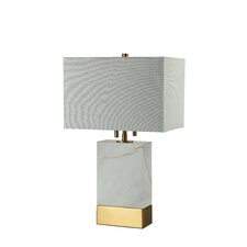 "Rockport 20"" H Table Lamp with Rectangle Shade"