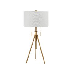 Mantis Adjustable Height Tripod Table Lamp with Drum Shade