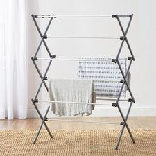 Wayfair Basics Deluxe Metal Drying Rack