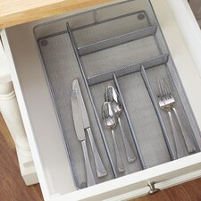 Wayfair Basics 6 Compartment Steel Mesh Drawer Organizer