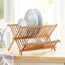 Wayfair Basics Pine Dish Rack