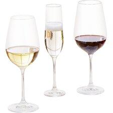 Wayfair Basics 18 Piece Wine & Champagne Glass Set