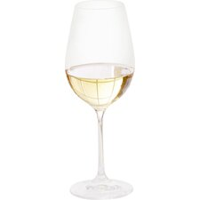 Wayfair Basics 15.25 oz. White Wine Glass (Set of 12)
