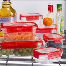 Wayfair Basics 12-Piece Plastic Food Container Set