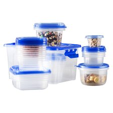 Wayfair Basics 54 Piece Plastic Food Storage Container Set