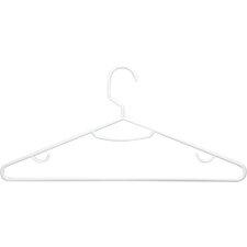 Wayfair Basics Plastic Tubular Non-Slip Hanger (Set of 60)