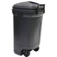 Wayfair Basics 34 Gallon Wheeled Trash Can
