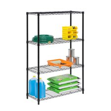Wayfair Basics 4 Shelf Shelving Unit