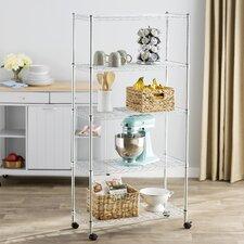 Wayfair Basics 5-Shelf Wire Shelving Unit