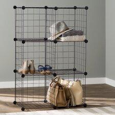 Wayfair Basics 6 Cube Mesh Storage