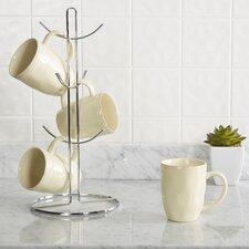 Wayfair Basics Metal Flat Wire Mug Tree