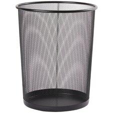 Wayfair Basics Mesh Steel Waste Basket