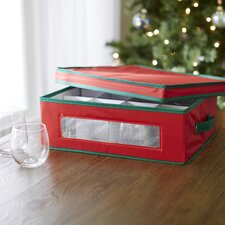Holiday Drinkware Storage