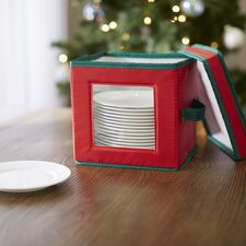 Holiday Plate Storage