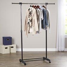 "Wayfair Basics 70.5"" H x 52.8"" W x 18.7"" D Garment Rack"