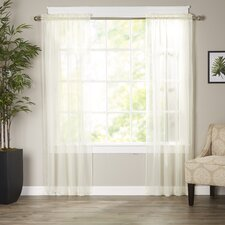 Wayfair Basics Polyester Curtain Panel (Set of 2)
