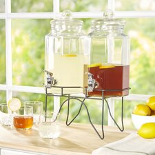 Wayfair Basics 3 Piece Beverage Dispenser Set