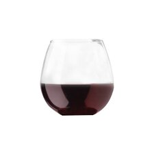 Wayfair Basics Stemless Balloon 20 oz. Wine Glass (Set of 4)