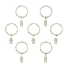 Wayfair Basics Clip Curtain Ring (Set of 21)
