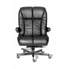 Comfort Plus+ Series Newport Ultra High-Back Leather Executive Chair