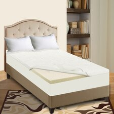 High Density Foam Mattress Topper with Removable Cover