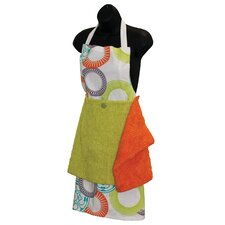 Serendipity Apron with Detachable Towels