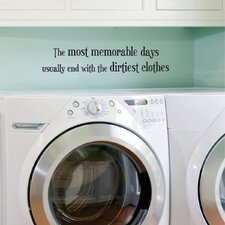 Dirtiest Clothes Wall Decal