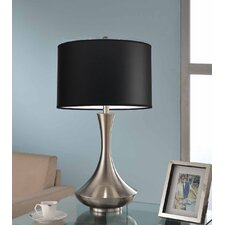 """Aladdin 30"""" H Table Lamp with Drum Shade"""