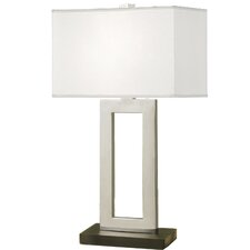 "29"" Table Lamp with Rectangular Shade"