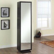"Home Deluxe 17.5"" x 71"" Mirror Free Standing Linen Tower"