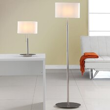 Audrey European 2 Piece Table and Floor Lamp Set