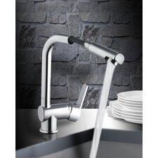Einhebel-Standard-Küchenarmatur mit Herausziehbarer Handbrause