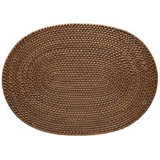 Oval Rattan Placemat (Set of 2)