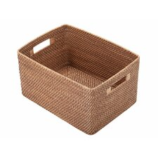 Rectangular Rattan Storage Basket
