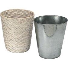 Laguna Handwoven Round Rattan Waste Basket