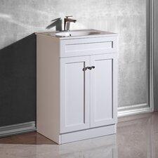 """Massa 24"""" Single Bathroom Vanity Set"""