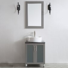 "Tuscany 24"" Single Vanity Set with Mirror"