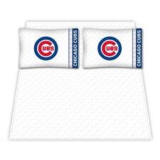 Chicago Cubs Micro Fiber Sheet Set