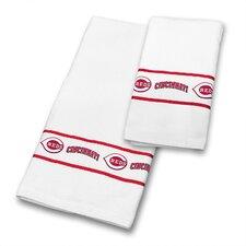 Reds 2 Piece Towel Set