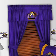 "NCAA 88"" Louisiana State Tigers Curtain Valance"
