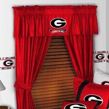 "NCAA 88"" Georgia Bulldogs Curtain Valance"