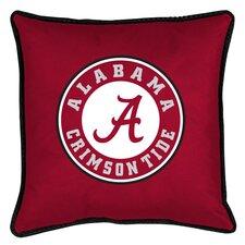 NCAA Alabama Sidelines Throw Pillow