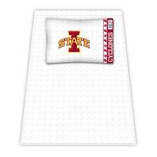 NCAA Iowa State Cyclones Microfiber Sheet Set